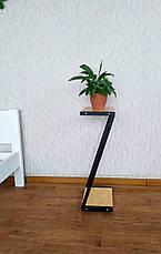 Металлическая стойка для цветов и декора в стиле Loft 760 (Z), фото 3
