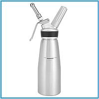 Профессиональный сифон для сливок алюминиевый 0,5 л
