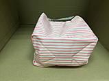 Термосумка Wonderful Life /  белая в розовую полоску, фото 3