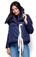 (S / 42-44) Коротка зимова куртка Selesta, синій