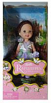 Коллекционная кукла Барби Келли цветочница Свадьба Рапунцель Barbie Kelly Rapunzel's Wedding 2005 Mattel