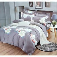 Super Elegant .Евро комплекты постельного белья сатин.Размер двухспальное евро.Спальные комплекты для дома.