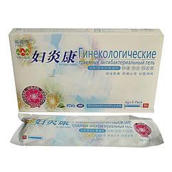 Гель гинекологический Травяной антибактериальный 5х3г  для оздоровления микрофлоры (1шт)