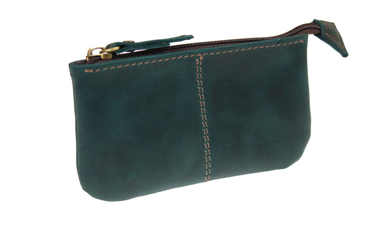 Ключница кожаная сумочка для ключей SULLIVAN k17(4) зеленая