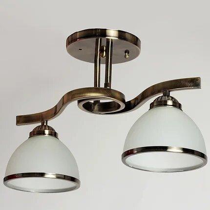 Люстра потолочная 2-х ламповая SH-4193/2 BR