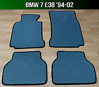 ЕВА коврики на BMW 7 E38 '94-02. Ковры EVA БМВ 7 е38, фото 1