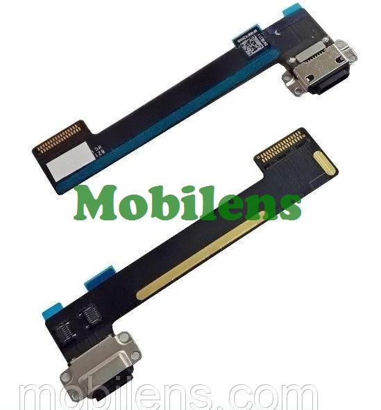 Apple iPad Mini 4, A1538, A1550 Шлейф с разъемом зарядки черный