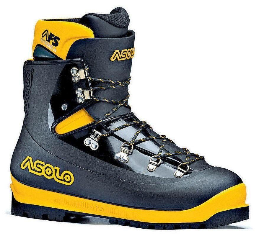 Ботинки мужские Asolo AFS 8000 MM Black/Yellow, 40