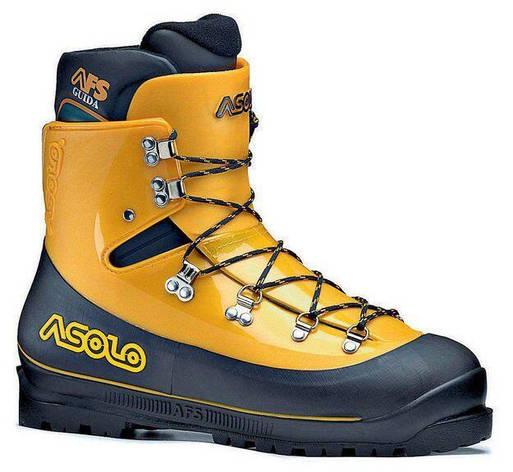 Черевики чоловічі Asolo AFS MM Guida Black/Yellow, 42, фото 2