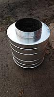 Глушитель шума Д125, L=500 мм, фото 1