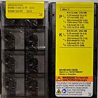 DNMG 110412-PF 4315 Sandvik Original Пластина твердосплавная ромб 55°