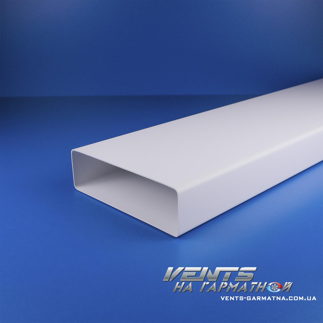 8015 Канал плоский 60*204/1,5м. Пластиковый воздуховод