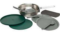 Набор посуды Stanley Adventure SS сковорода плюс аксессуары, зеленый