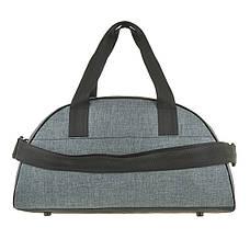 Дорожньо-спортивна сумка Wallaby сіра 44х28х20 поліестер в 213сер, фото 2