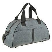 Дорожно-спортивная сумка Wallaby серая 44х28х20 полиэстер  в 213сер