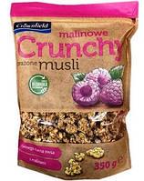Кранчи Мюсли Crownfield Crunchy - з малиною 350 г.