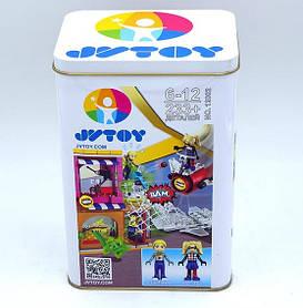 Конструктор JVToy 12002 Помощь Харли Квинн. Чудо девочки (аналог Lego DC Super Hero Girls 41231)
