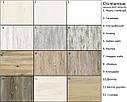 Стол кухонный раскладной обеденный МАРСЕЛЬ 90(+35+35)х70 венге - Аляска- Стекло  ультрабелое, фото 5