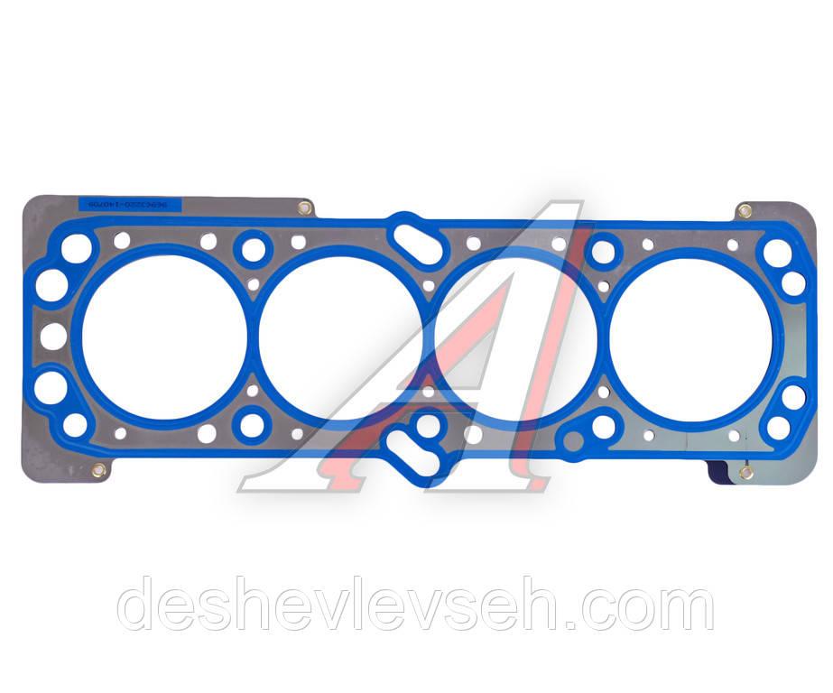 Прокладка головки блока AVEO DOHC 1.4,1.6/LACETTI 1.6 металл (96963220), 96473400 (Корея)
