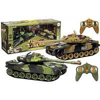 Танковый бой гусеничный на радиоуправлении War Tank 9995-2 (2 танка)