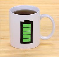 Чашка хамелеон Батарейка