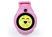 Детские наручные смарт часы Smart Baby Watch A17 Розовый