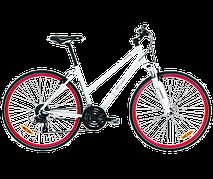 Велосипед городской BH Beartrack Mix Pro White/Red, р.S