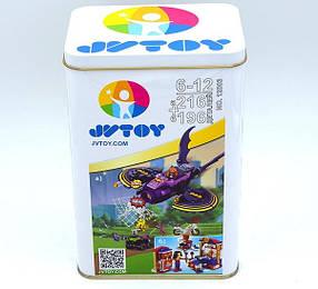 Конструктор JVToy 12003 Бэт-глайдер Леди Бэт и Дом Чудо-женщины (аналог Lego Super Hero Girls 41230 и 41235)