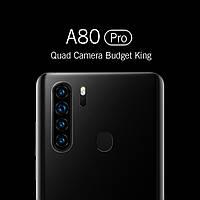 Смартфон Blackview A80 Pro 4/64Гб 6.5' IPS 18:9 4 камеры 4680мАч 2SIM (Черный)