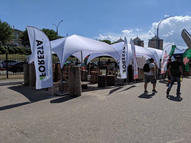 палатка 4х4
