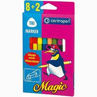 Фломастеры centropen 2549 magic набор 10 шт.