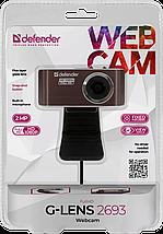 Веб-камера Defender G-LENS 2693 Full HD, USB 2.0, встроенный микрофон, фото 3