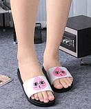Женские легкие тапочки с розовой каплей, фото 2