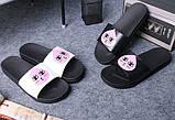 Женские легкие тапочки с розовой каплей, фото 3