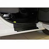 Пластиковые защитные накладки на пороги для Citroen Berlingo II / Peugeot Partner II B9 2008-2018, фото 2