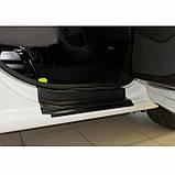 Пластиковые защитные накладки на пороги для Citroen Berlingo II / Peugeot Partner II B9 2008-2018, фото 4