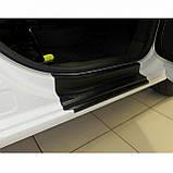 Пластиковые защитные накладки на пороги для Citroen Berlingo II / Peugeot Partner II B9 2008-2018, фото 5