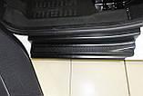Пластиковые защитные накладки на пороги для Citroen Berlingo II / Peugeot Partner II B9 2008-2018, фото 6