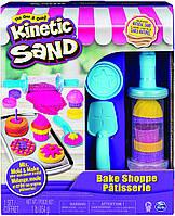 Набор с кинетическим песком Пекарня, Kinetic Sand, Bake Shoppe, Spin Master