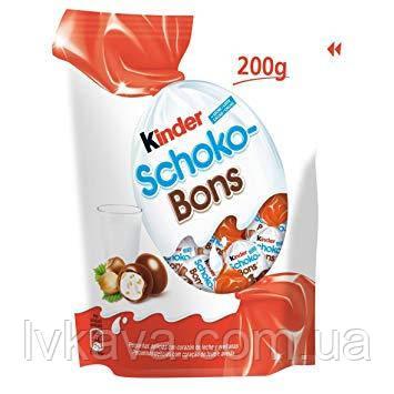Шоколадные конфеты Kinder Schoco Bons Ferrero , 200 гр