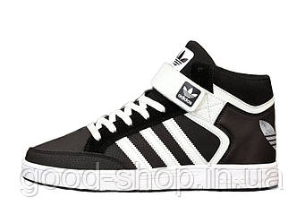 "Мужские кроссовки  Adidas Varial Mid ""Black/White"" (копия)"