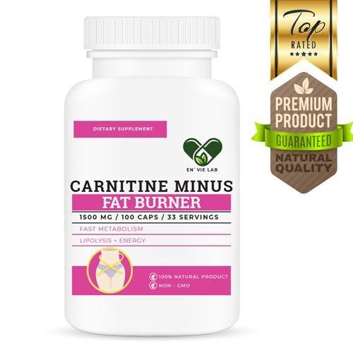 Жіросжігателя L-Карнітин тартрат для схуднення 1500 mg. FAT BURNER - ENVIE LAB