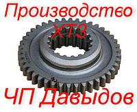 Шестерня 151.37.235-5  Т-150К вторичного вала     ПРОИЗВОДСТВО ХТЗ     z-42/18