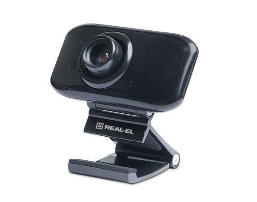 Веб-камера REAL-EL FC-250, USB 2.0, встроенный микрофон, фото 2