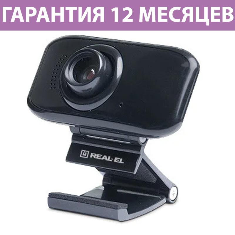 Веб-камера REAL-EL FC-250, USB 2.0, встроенный микрофон
