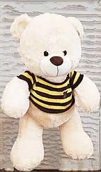 Большой белый плюшевый медведь мягкая игрушка милый мишка 1 метр