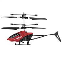 Вертолет Sky Shock летает от руки Красный