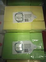 Салфетки безворсовые, плотные 1000 штук, цветные, фото 2