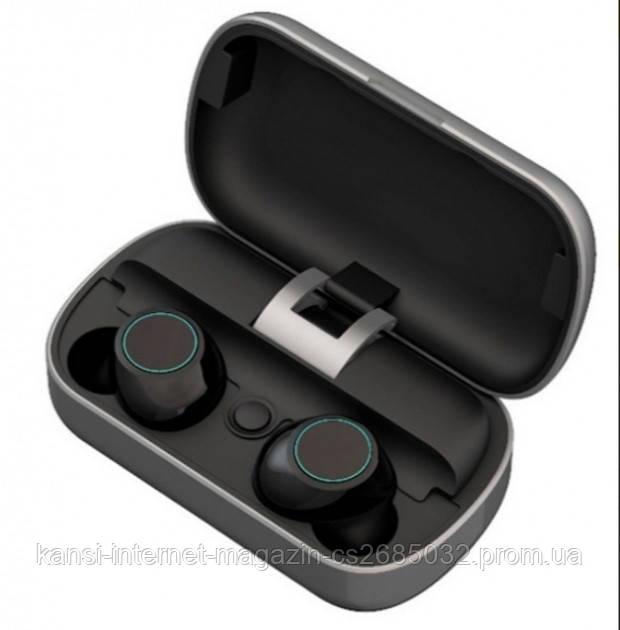 Вакуумные Bluetooth наушники  TWS S8 с кейсом