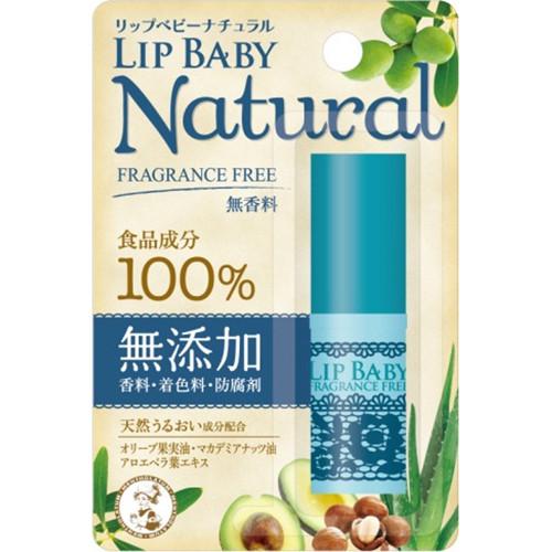 ROHTO Mentholatum Lip Baby натуральный без запаха бальзам для губ